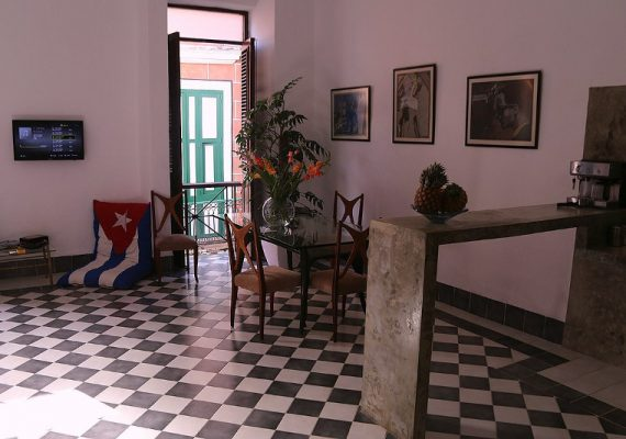 Private accommodation in Havana